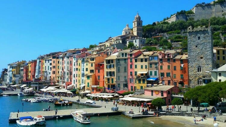 photo, image, porto venere, italy