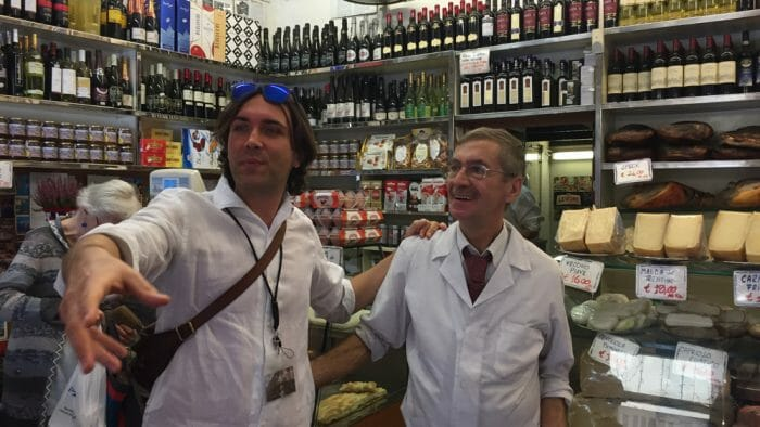 photo trastevere food tour