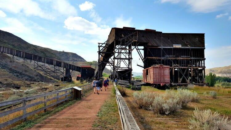 photo, image, coal mine, western canada