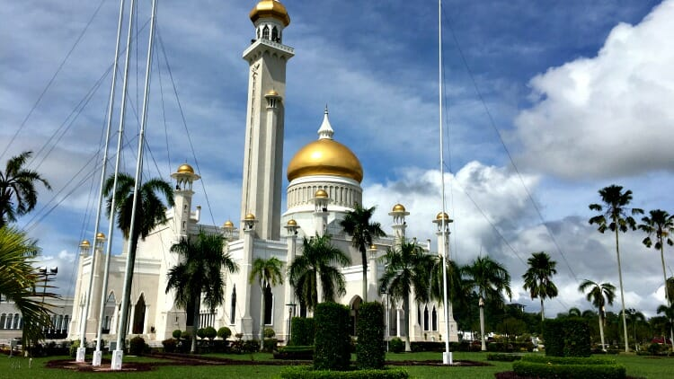 photo, image, mosque, brunei