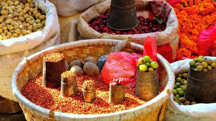 photo, image, spices, kathmandu, nepal