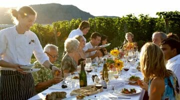 photo, image, dinner table, food wine western canada