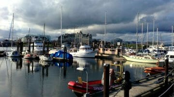 photo, image, harbor, comox, western canada photos