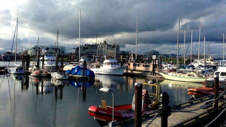 photo, image, harbor, comox, western canada photos