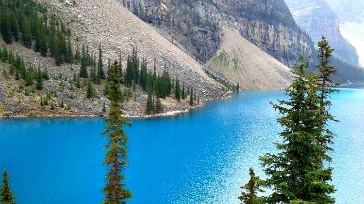 photo, image, moraine lake, western canada photos