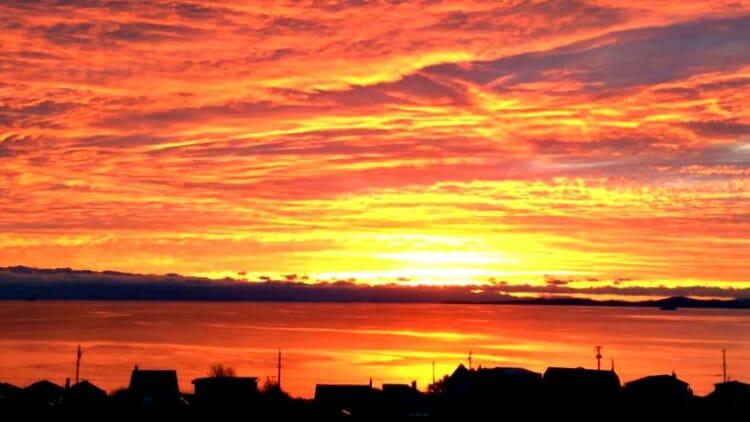 photo, image, sunset, victoria, western canada photos