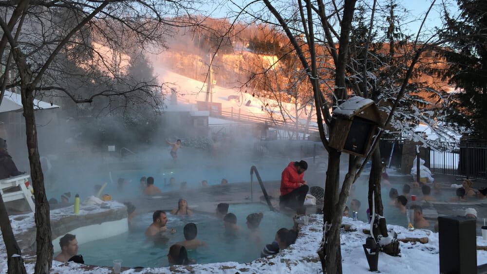photo, image, mont tremblant, winter solo travel