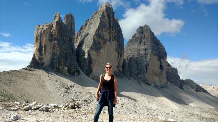 photo, image, solo female traveler, dolomites, best solo travel memories