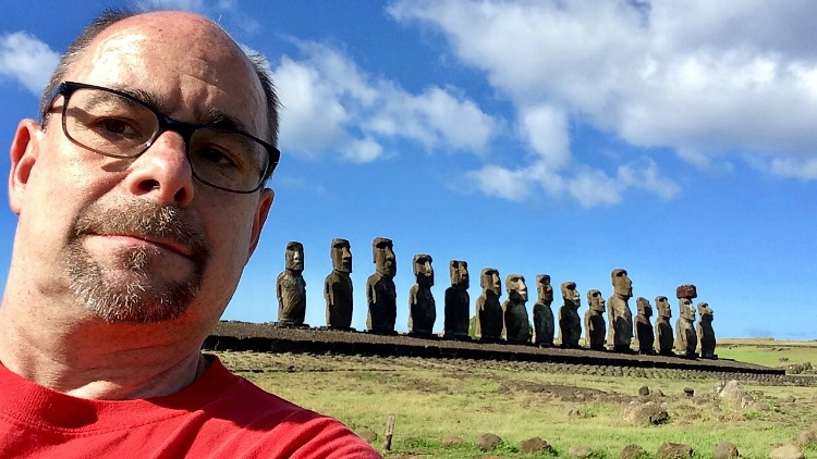 photo, image, easter island, best solo travel memories