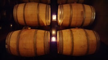 photo, image, wine barrels, two sisters vineyards, niagara-on-the-lake