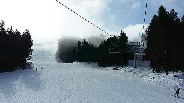 photo, image, ski slope, bansko, bulgaria