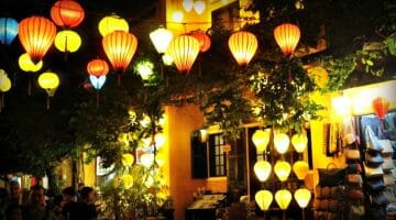 photo, image, lanterns, hoi an, vietnam