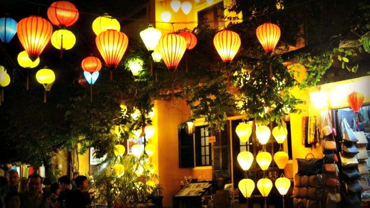 photo, image, lanterns, hoi an, vietnam