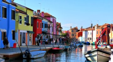 photo, image, burano, solo travel in italy