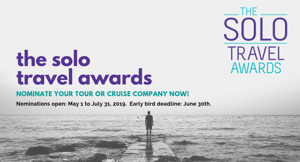 The Third Annual Solo Travel Awards Are Open for Nominations