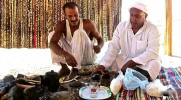photo, image, bedouins, tea, dahab, egypt