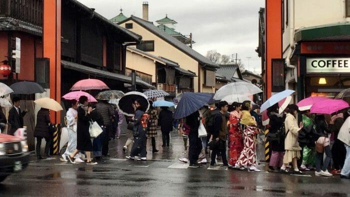 solo travel kyoto