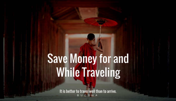 save money travel budget