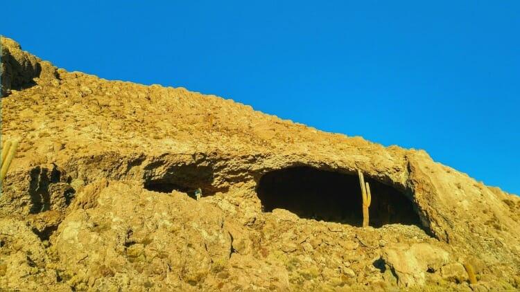 photo, image, caves, isla piapia, salr de uyuni, bolivia