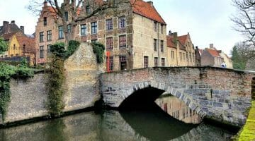 photo, image, bridge, bruges, belgium