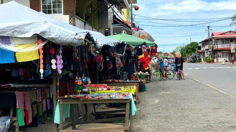 photo, image, main street, isla colon, bocas del toro