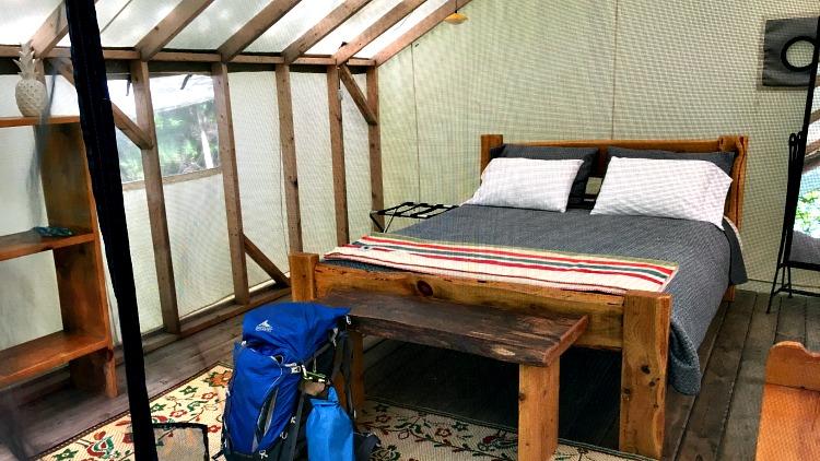 photo, image, tent, glamping georgian bay ontario