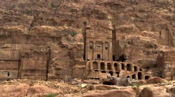 photo, image, monastery, petra, jordan