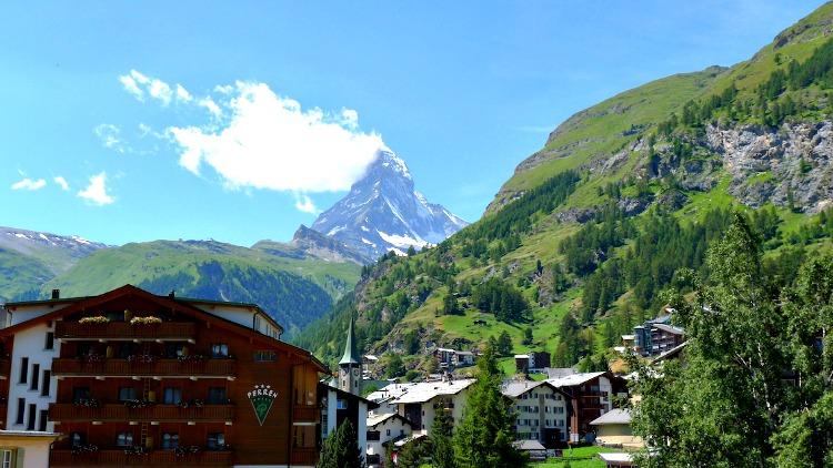 photo, image, matterhorn, zermatt, switzerland