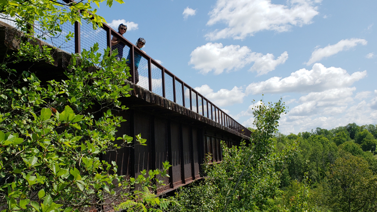 photo, image, trestle bridge, bike ontario