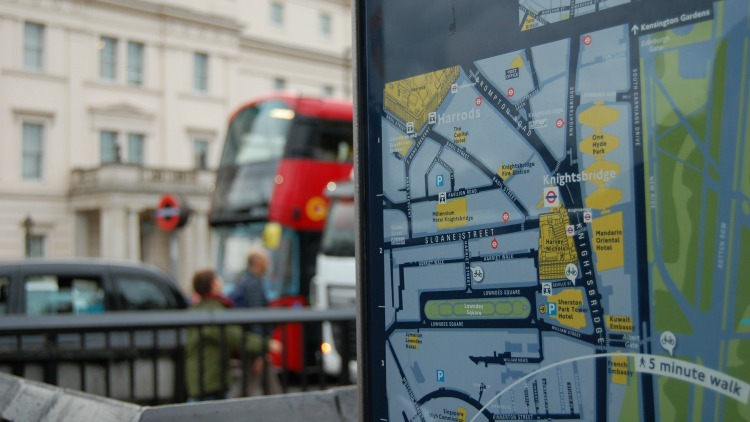 photo, image, subway map, london, stress-free solo travel