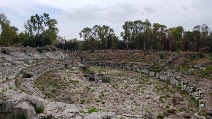 Roman amphitheatre syracuse