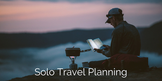 solo travel planning