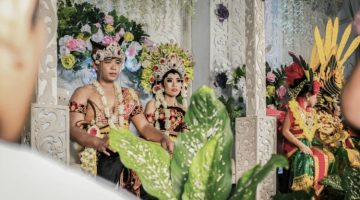 photo, image, wedding, indonesian jungle