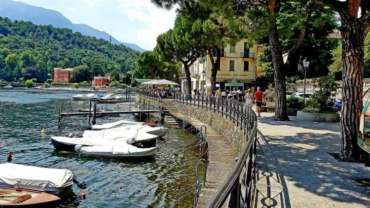 photo, image, waterfront, lenno, italy