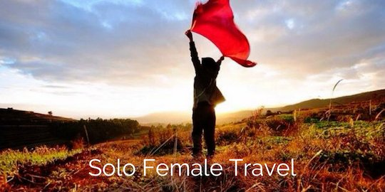 Solo travel for widows