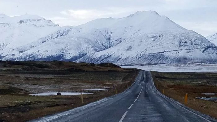 photo, image, driving through iceland