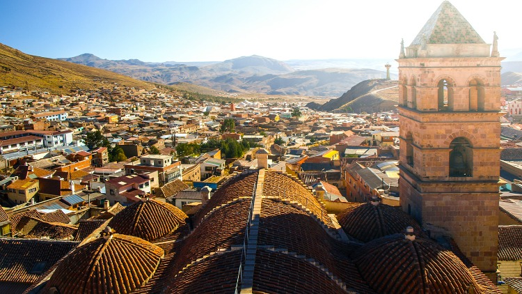 la paz, bolivia, destinations for solo travelers on a budget