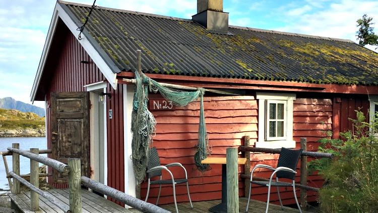 photo, image, fisherman's hut, lofoten islands