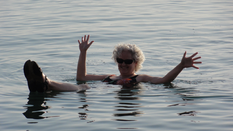 photo, image, floating in dead sea, spa solo