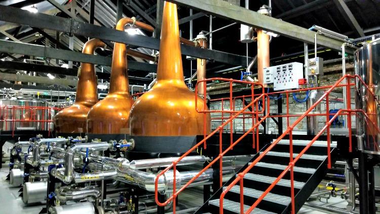 photo, image, copper stills, jameson, discovering irish whiskey