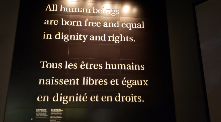 article 1 of The Universal Declaration of Human Right
