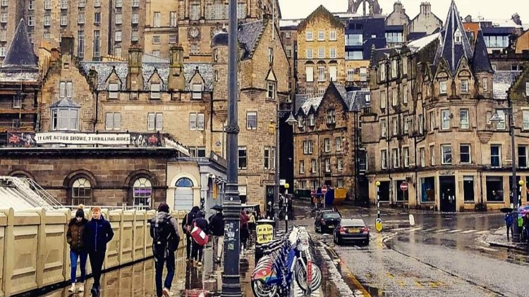 photo, image, edinburgh, scotland