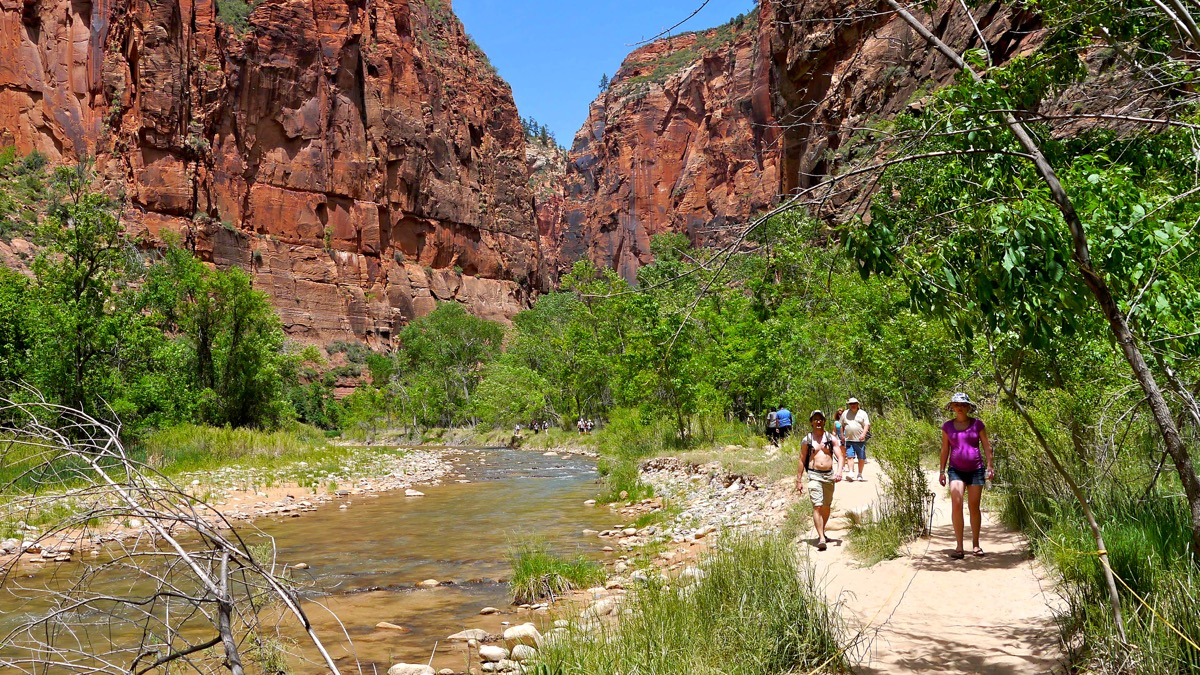 photo, image, zion national park, hiking destinations for solo travelers