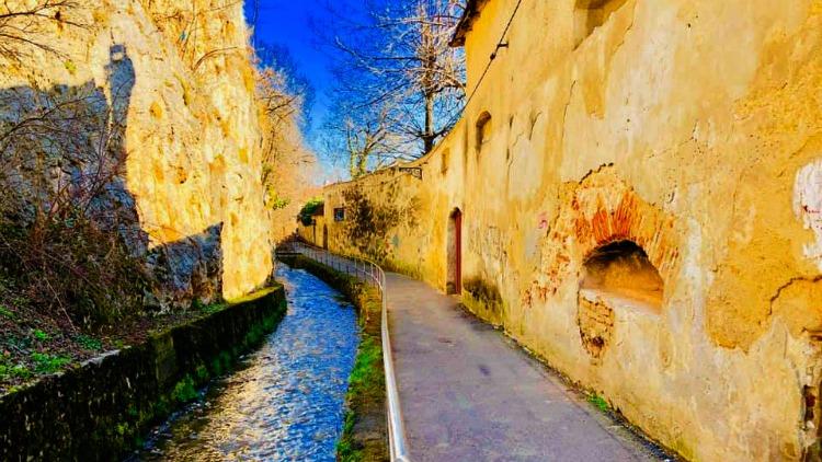 photo, image, street, brasov, romania, old town