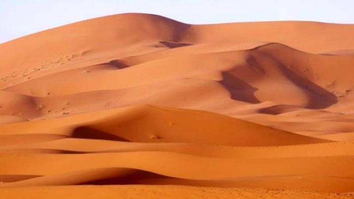 photo, image, sunset, sahara desert, merzouga, morocco