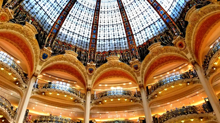 photo, image, galeries lafayette, river cruise