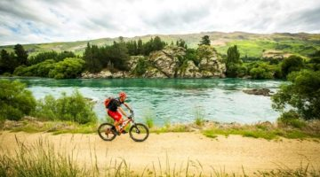 Pic of the Week: Cycling in Central Otago, New Zealand
