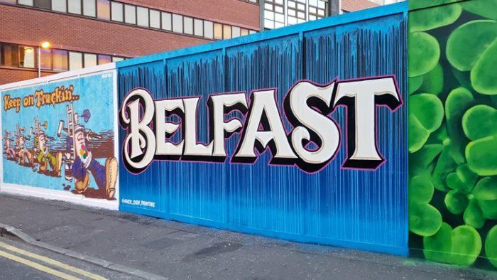 belfast, mural, images of northern ireland