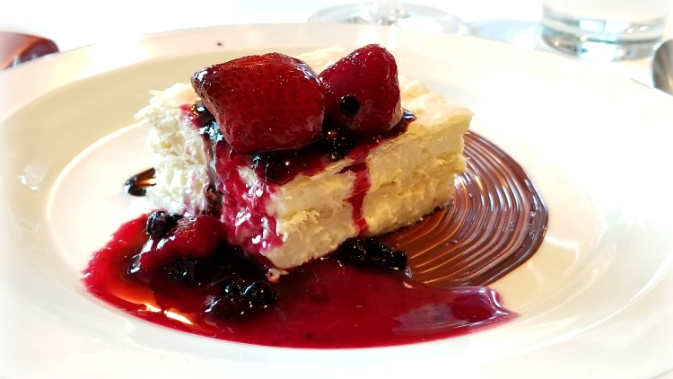 photo, image, cheesecake, culinary river cruise