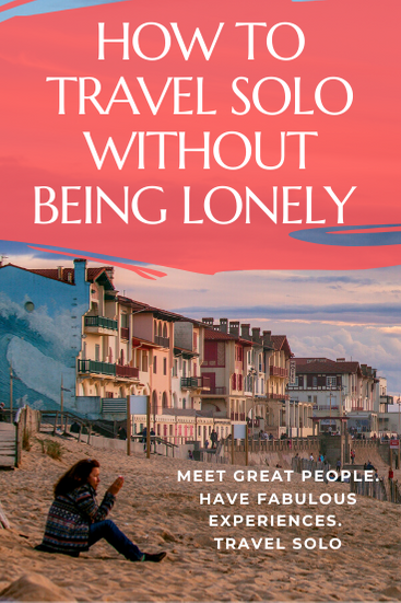 Worried you'll be lonely traveling solo? Here's some great advice on how to travel alone without being lonely and enjoy the social side of solo travel. 10 Tips & 12 Posts that will help you great social solo travel. #solotravel #travelalone #solotraveltips